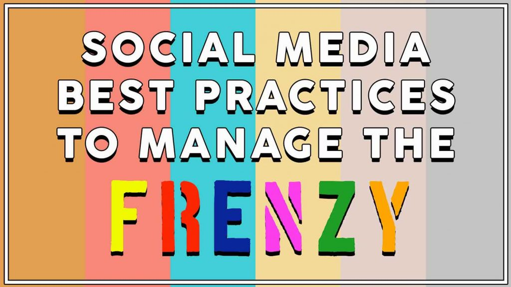 social media best practices 2019