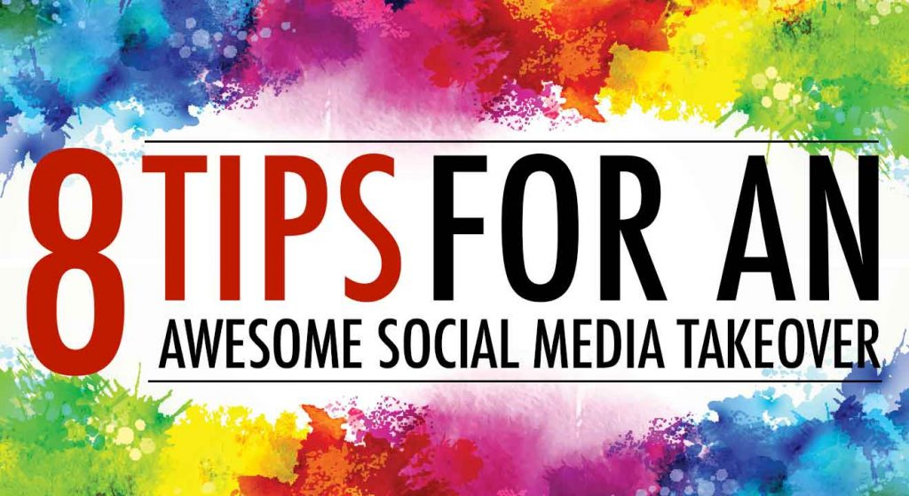 tips to allow your students to takeover your social media