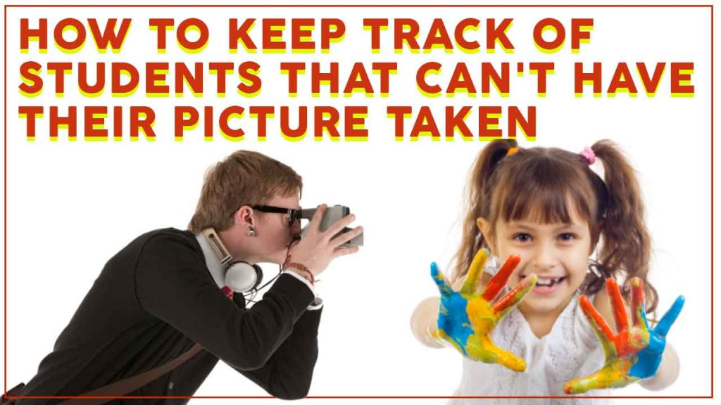 photograping students in the classroom