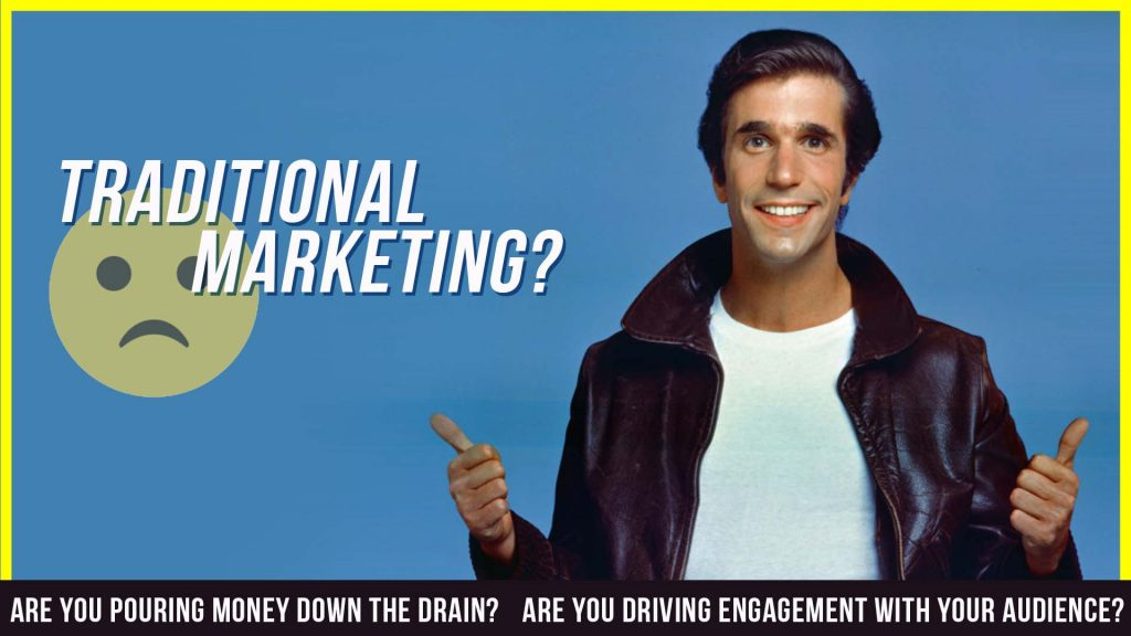 alternative strategies to traditional marketing