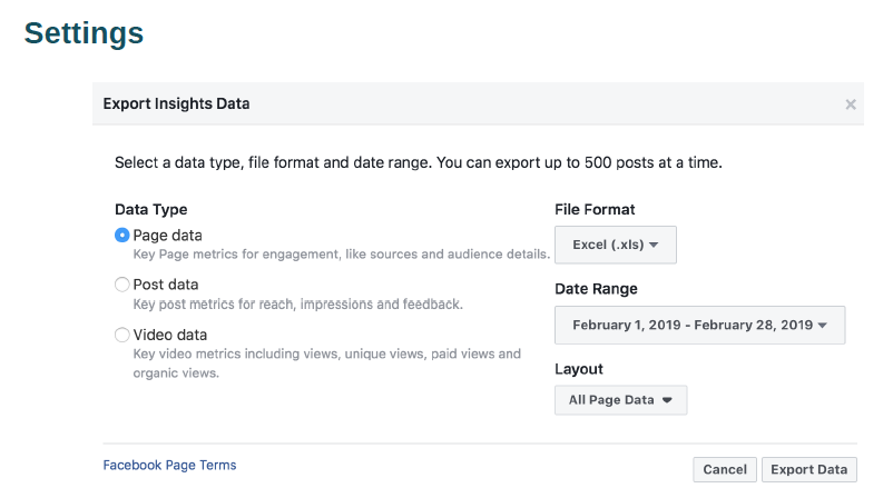 Facebook insight tips for Facebook