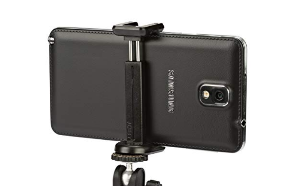 "GripTight Mount XL for Large Smartphones From JOBY - Attach Your Phone to Any Tripod or Mount Using a 1/4""-20 Screw"