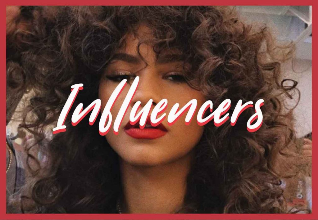 using influencers to market