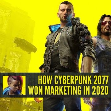 Cyberpunk video game