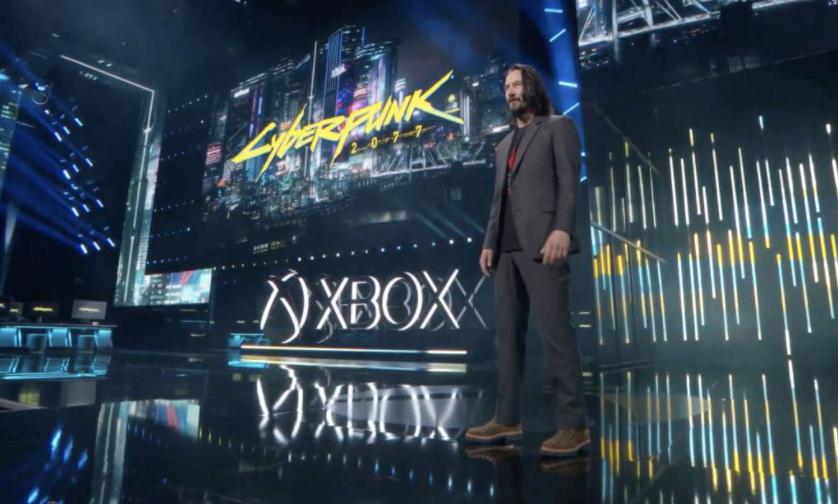 Keanu Reeves is a Cyberpunk