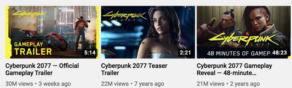 cyberpunk youtube