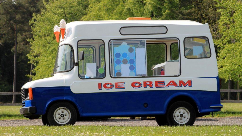 marketing using an ice cream truck