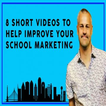videos to help with your school marketing