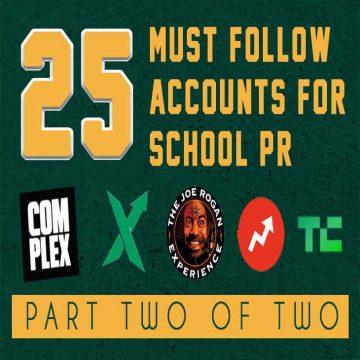 must follow schoolpr
