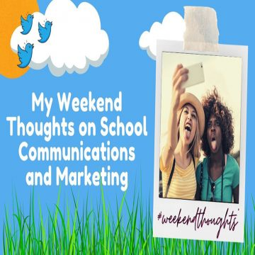 thinking about school marketing